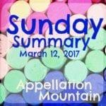 Sunday Summary: 11/2017