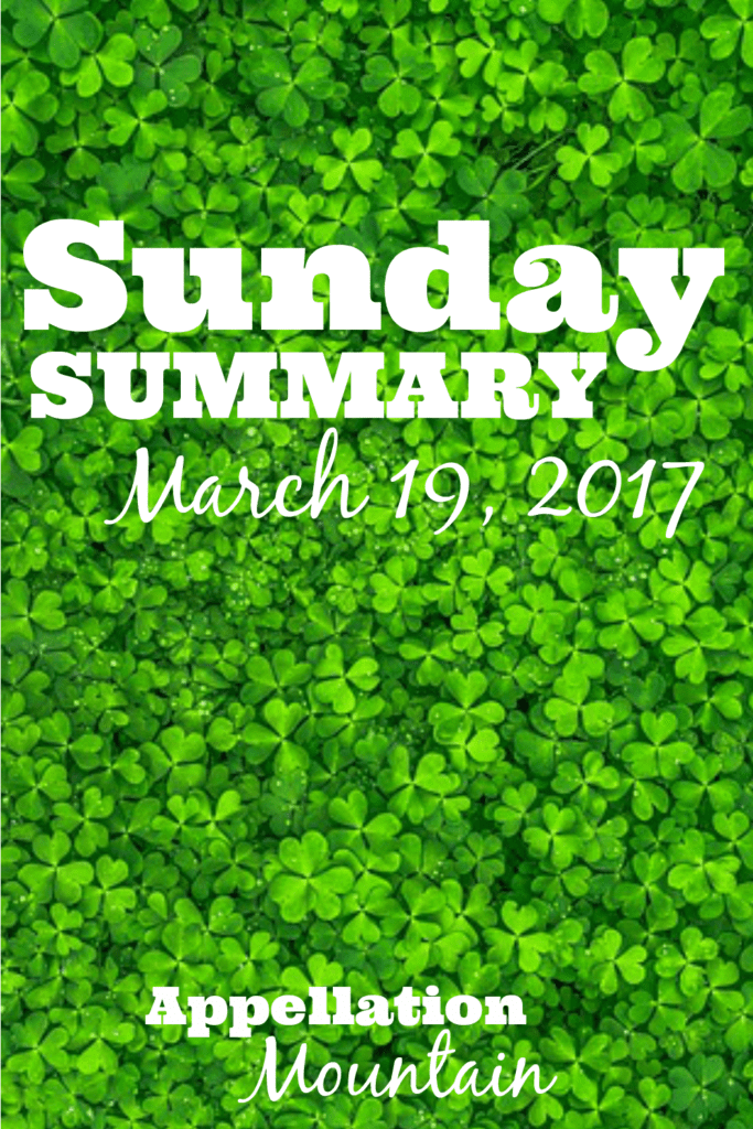 Sunday Summary 3.19.17