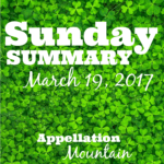 Sunday Summary: 12/2017