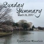 Sunday Summary: First of Spring