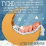 Tycho: Baby Name of the Day