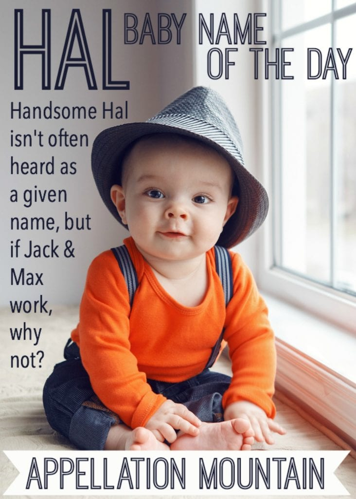 Hal: Baby Name of the Day