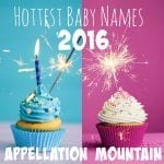 Fastest Rising Baby Names: Two Year Report