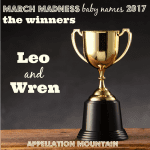 March Madness Baby Names 2017: The Winners!