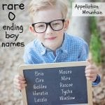 Rare Boy Names Ending with O