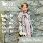 Theodora Nicknames: Ten Great Options