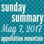 Sunday Summary: 19/2017