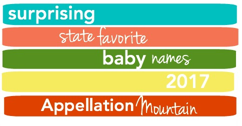 Surprising State Favorite Baby Names