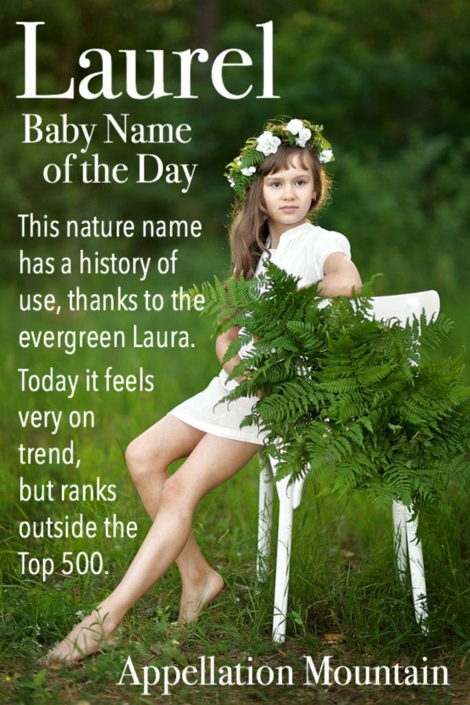 Laurel: Baby Name of the Day