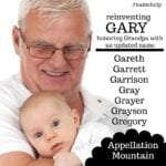 Name Help: Reinventing Gary
