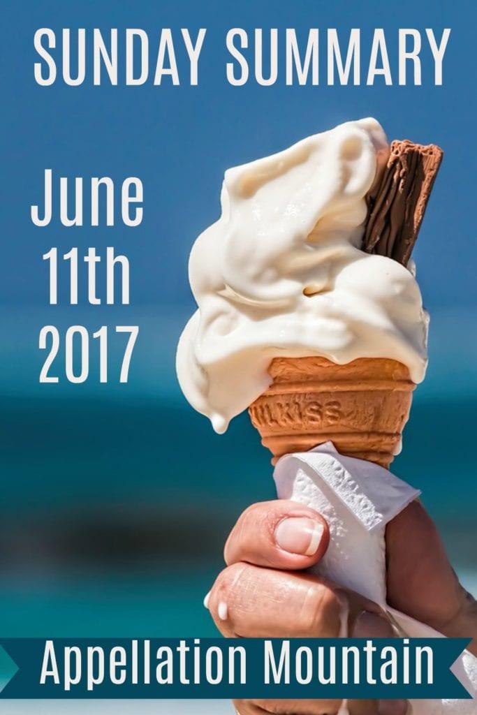 Sunday Summary: June 11, 2017