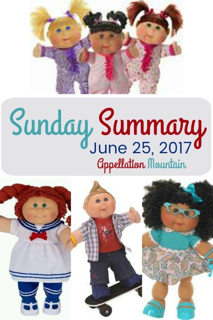 Sunday Summary 6.25.17