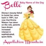 Belle: Baby Name of the Day