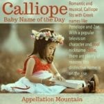 Calliope: Baby Name of the Day