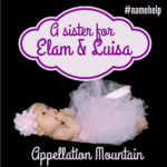 Name Help: A Sister for Elam and Luisa