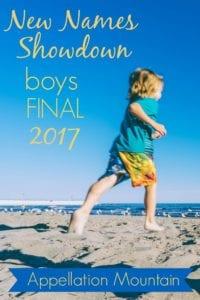 New Names Showdown 2017 boys final