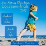 New Names Showdown 2017 Boys SemiFinals