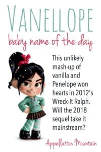 Vanellope: Baby Name of the Day