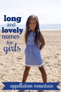 Long & Lovely Girl Names