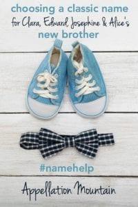 Name Help: Classic Boy Name