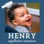 Baby Name Henry: Classic Trendsetter