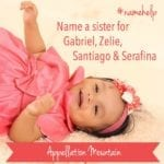 Name Help: English-Spanish Name for Baby Five