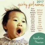 Quirky Girl Names 2017: Zuzu, Anouk, Cricket