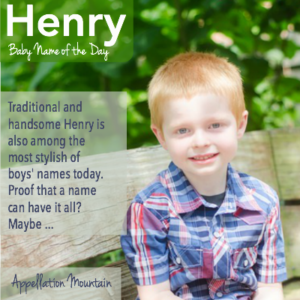 Henry: Baby Name of the Day