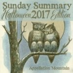 Sunday Summary: Halloween 2017 Edition
