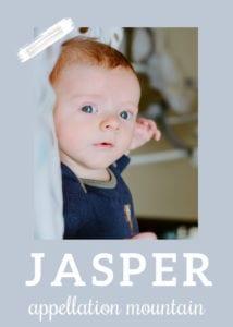 baby name Jasper