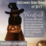 Halloween Baby Names 2017: Witches Win!