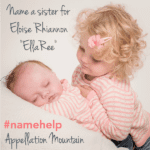 Name Help: A Sister for EllaRee