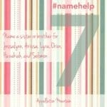 Name Help: Jessalynn, Arissa, Lyra, Orion, Hezekiah, Solomon, and …