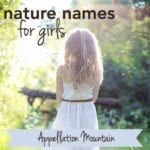 Nature Names for Girls: Most Popular of 2017