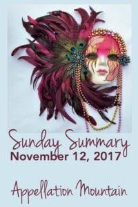 Sunday Summary 11.12.17
