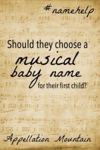 Name Help: Musical Names