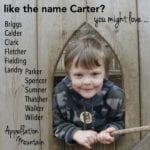Names Like Carter: 12 Great Alternatives