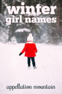 Winter Girl Names