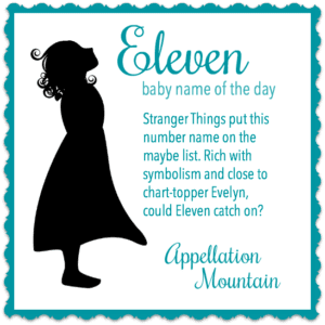 Eleven: Baby Name of the Day
