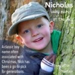Nicholas: Baby Name of the Day