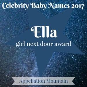 Celebrity Baby Names 2017: Ella