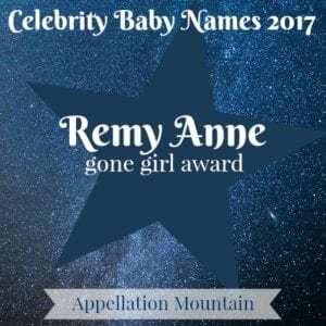 Celebrity Baby Names 2017: Remy Anne
