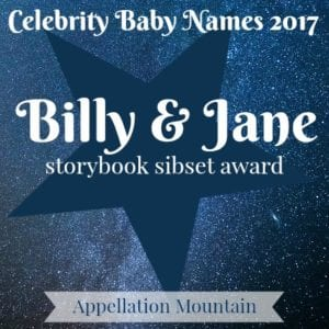 Celebrity Baby Names 2017: Billy and Jane