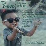 Revel: Baby Name of the Day