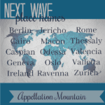 Next Wave Place Names: Caspian, Cairo, Rome