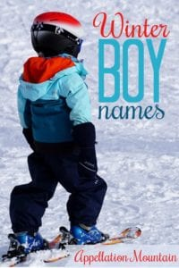 Winter Boy Names