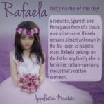Rafaela: Baby Name of the Day