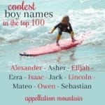 Coolest Top 100 Boy Names: Ezra, Jack, and Owen