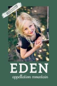 baby name Eden
