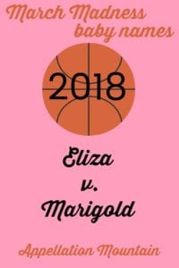 March Madness baby names 2018 girls final